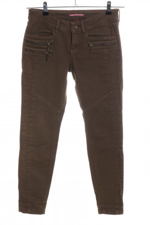 QS by s.Oliver Slim Jeans khaki Casual-Look