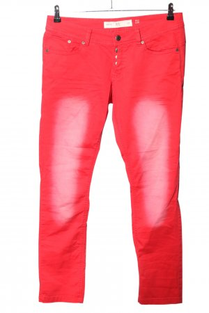 QS by s.Oliver Slim Jeans rot Casual-Look