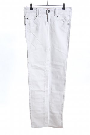 QS by s.Oliver Slim Jeans weiß Casual-Look