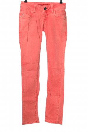 QS by s.Oliver Slim Jeans hellorange Casual-Look
