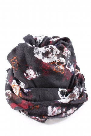 QS by s.Oliver Summer Scarf flower pattern casual look