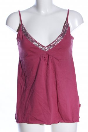 QS by s.Oliver Spaghettiträger Top pink Casual-Look
