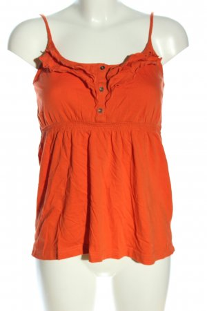 QS by s.Oliver Spaghettiträger Top hellorange Casual-Look