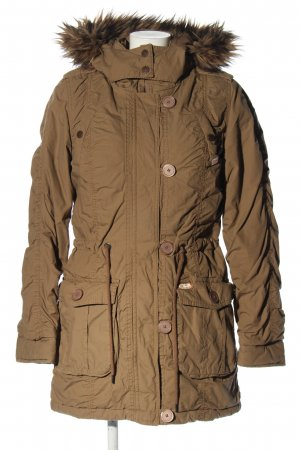 QS by s.Oliver Steppjacke braun Casual-Look