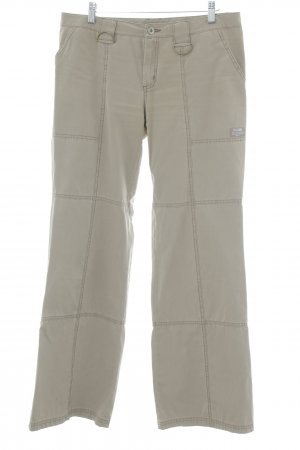 QS by s.Oliver Stoffhose beige Casual-Look