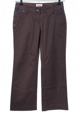 QS by s.Oliver Stoffhose braun Casual-Look