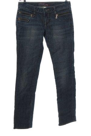 QS by s.Oliver Jeansy z prostymi nogawkami niebieski Melanżowy W stylu casual