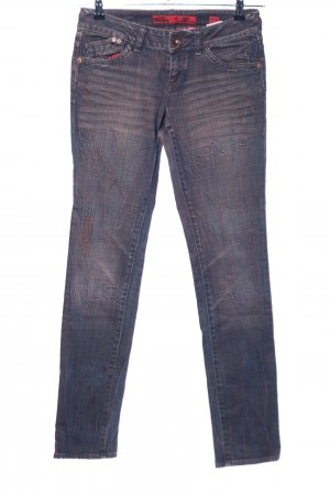 QS by s.Oliver Straight-Leg Jeans braun Casual-Look