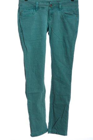 QS by s.Oliver Jeansy z prostymi nogawkami turkusowy W stylu casual