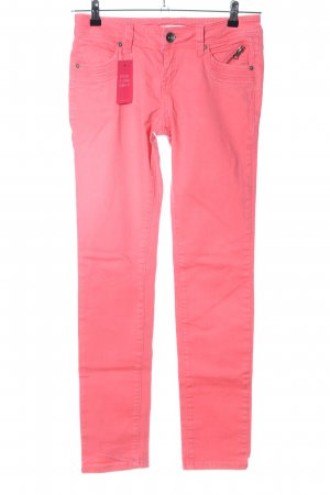 QS by s.Oliver Straight-Leg Jeans pink Casual-Look