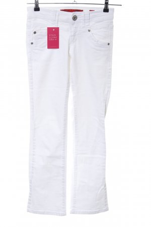 QS by s.Oliver Straight-Leg Jeans weiß Casual-Look