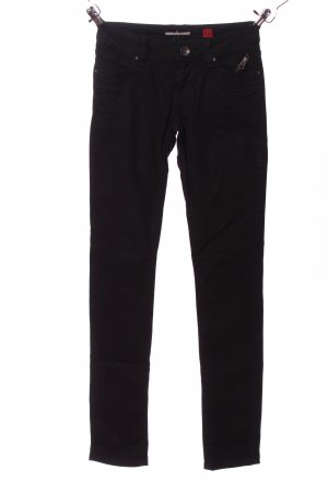 QS by s.Oliver Jeansy z prostymi nogawkami czarny W stylu casual