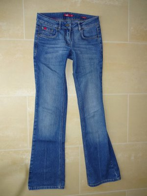QS by s.Oliver Boot Cut Jeans multicolored