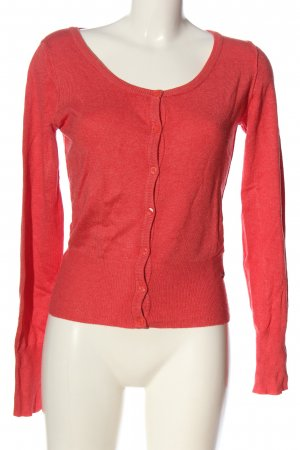 QS by s.Oliver Knitted Cardigan red casual look