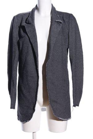 QS by s.Oliver Blazer tejido gris claro-negro moteado look casual