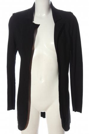 QS by s.Oliver Knitted Blazer black casual look