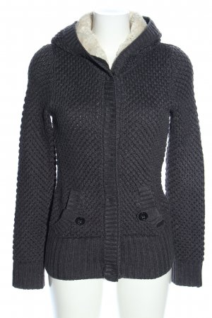 QS by s.Oliver Strickjacke hellgrau Casual-Look