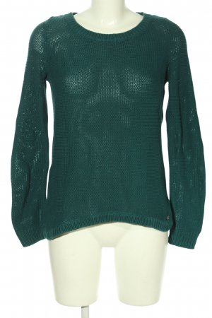 QS by s.Oliver Strickpullover grün Casual-Look