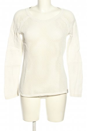 QS by s.Oliver Strickpullover weiß Casual-Look