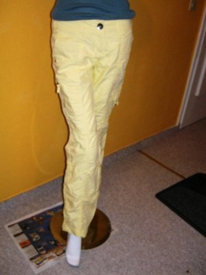 s.Oliver Cargo Pants yellow cotton