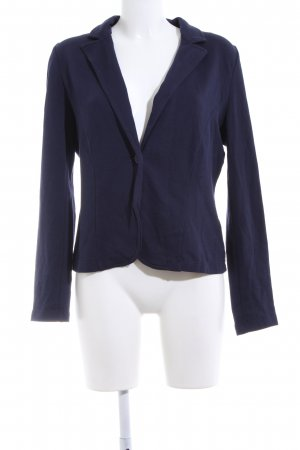 QS by s.Oliver Sweatblazer blau Business-Look