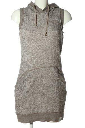 QS by s.Oliver Sukienka dresowa jasnoszary Melanżowy W stylu casual