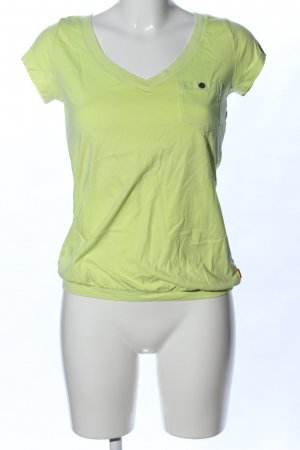QS by s.Oliver T-Shirt grün Casual-Look