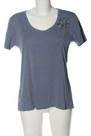 QS by s.Oliver T-Shirt blau Casual-Look