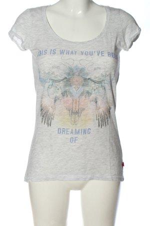 QS by s.Oliver T-Shirt Motivdruck Elegant
