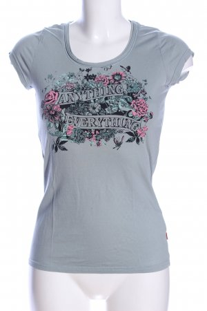QS by s.Oliver T-Shirt Blumenmuster Casual-Look