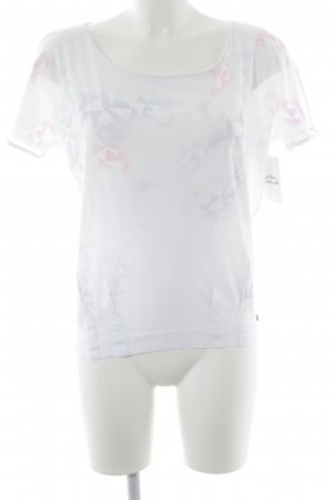 QS by s.Oliver T-Shirt abstraktes Muster Casual-Look
