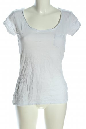QS by s.Oliver T-Shirt hellgrau Casual-Look