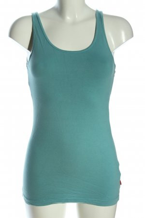 QS by s.Oliver Tanktop türkis Casual-Look