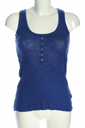 QS by s.Oliver Tanktop blau Casual-Look