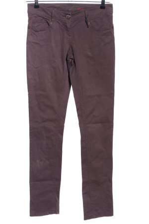 QS by s.Oliver Treggings braun Casual-Look