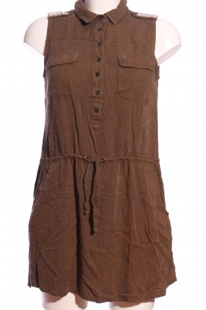 QS by s.Oliver Blusenkleid braun Casual-Look