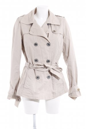 QS by s.Oliver Übergangsjacke creme Casual-Look