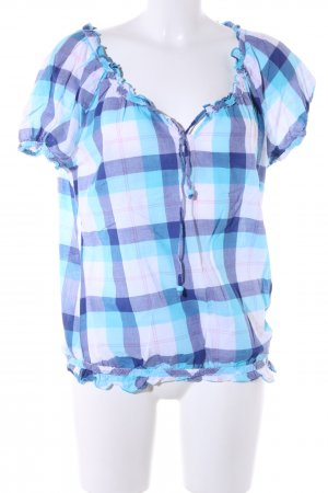 QS by s.Oliver V-Neck Shirt check pattern casual look