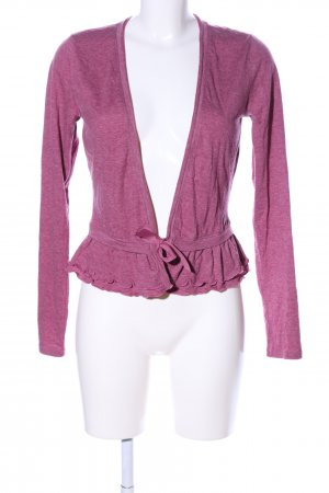 QS by s.Oliver Wickel-Bluse pink meliert Business-Look