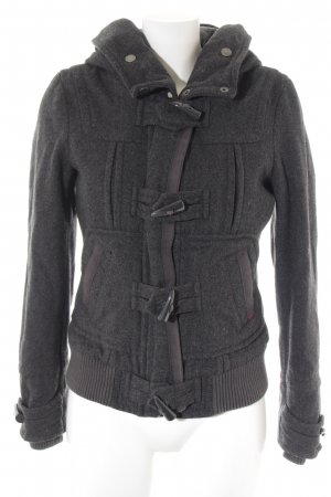 QS by s.Oliver Winterjacke dunkelgrau Casual-Look