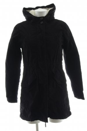 QS by s.Oliver Winterjacke schwarz Casual-Look