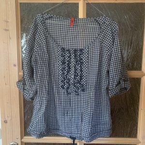 Qs.byS.oliver Bluse Gr.40 mit Rüschen und Kordel am Bündchen neu