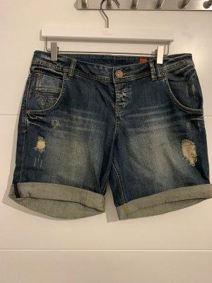 QS by s.Oliver Denim Shorts dark blue-blue