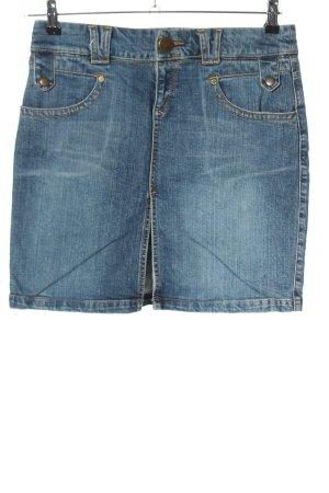 QS Style Jeansrock blau Casual-Look