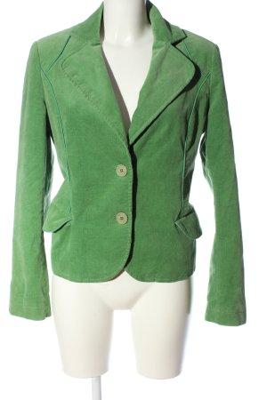 QS Style Kurz-Blazer grün Casual-Look