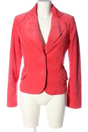 QS Style Kurz-Blazer rot Casual-Look