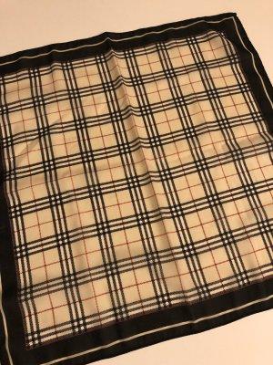 Quadratisches Halstuch mit Burburry-Muster