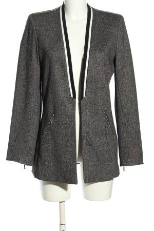 quai de seine paris Long Blazer light grey-black flecked business style