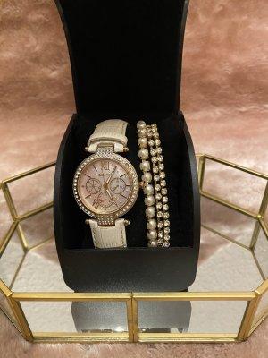 Verschiedene Marken Reloj con pulsera de cuero multicolor