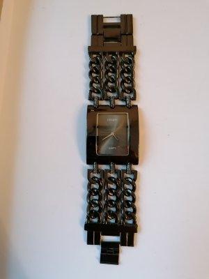 Quartz, Uhr, Armbanduhr, schwarz,